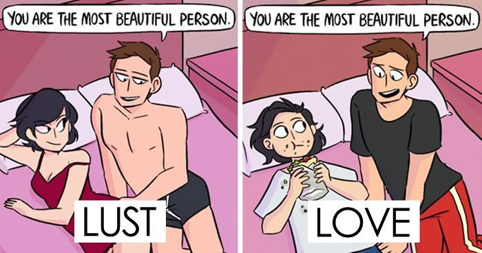 Love Vs. Lust | Bored Panda