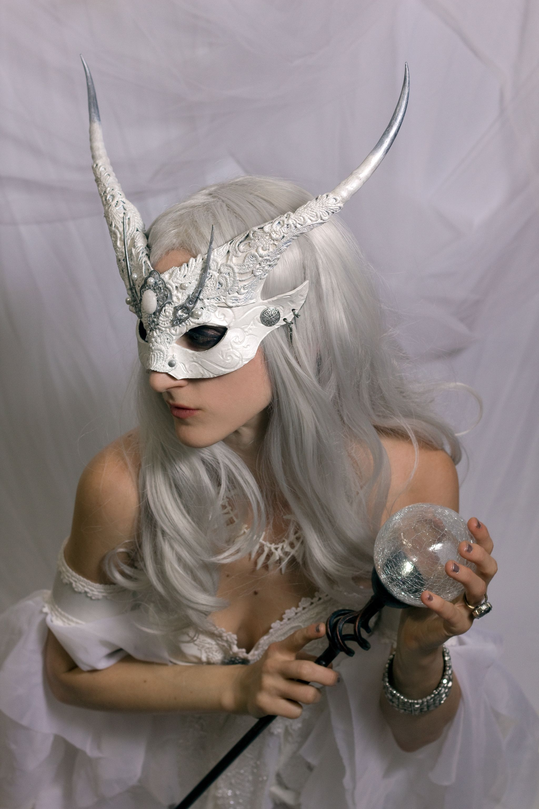 Winter Witch Cosplay Mask by Vincent Cantillon .Costume by me ...