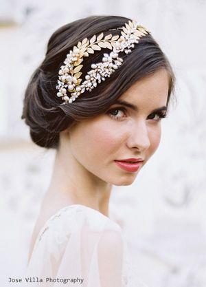 40ff1268dc115  花嫁の髪型 海外花嫁のおしゃれなブライダルヘアスタイル画像 - NAVER まとめ