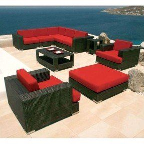 Amazing Red Patio Furniture