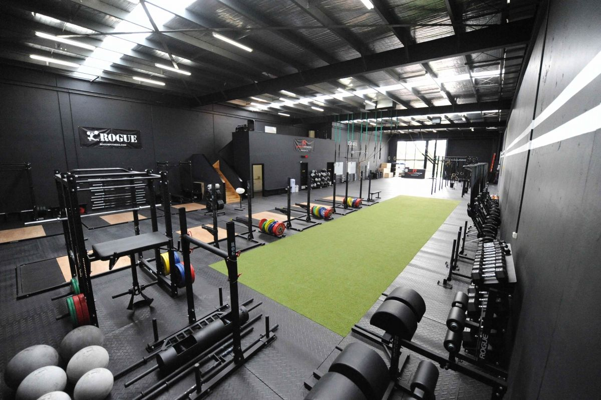 Rogue equipped facilities facility outfitting gyms ideas for