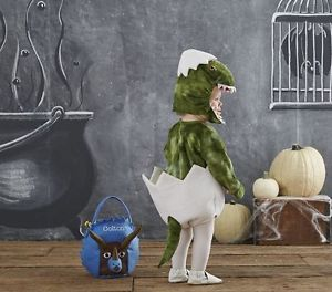 NWT//NEW POTTERY BARN KIDS INFANTS BABY DINOSAUR EGG COSTUME 6-12 MONTHS