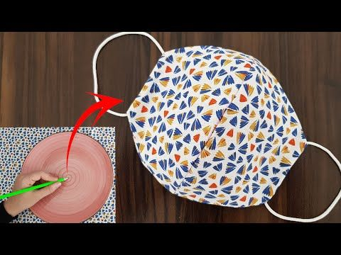 Photo of Make Fabric Face Mask at Home / DIY Face Mask With Sewing Machine / Easy Face Mask Pattern