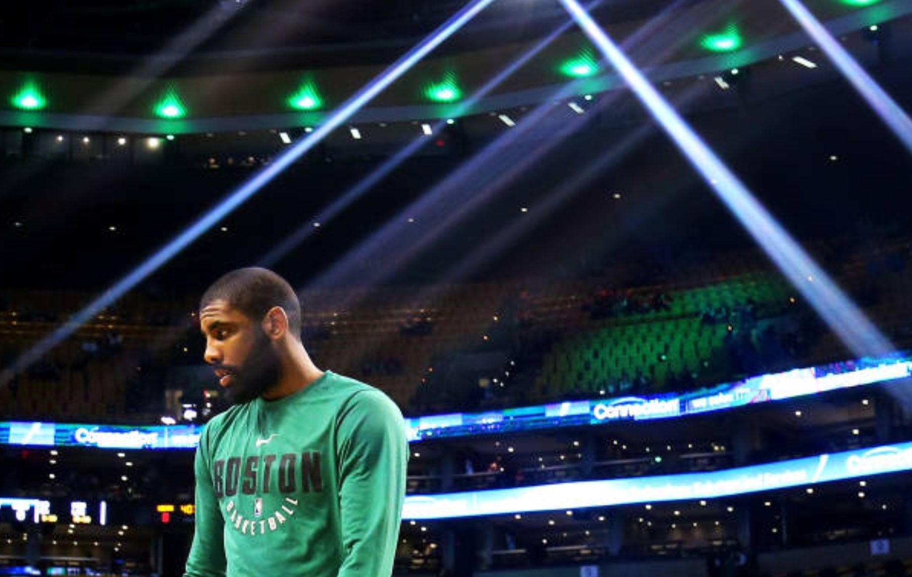 The Celtics have been on a win streak. KyrieIrving