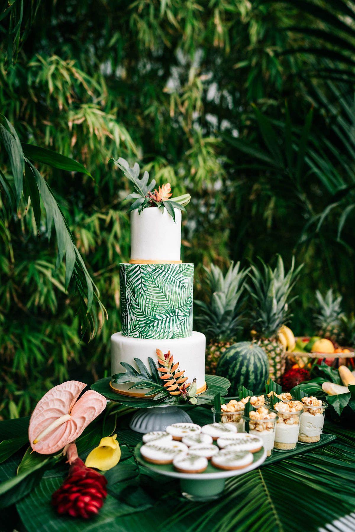 Photo of Ideas para una boda tropical de verano en la botánica   Blog de bodas The Little Wedding Corner