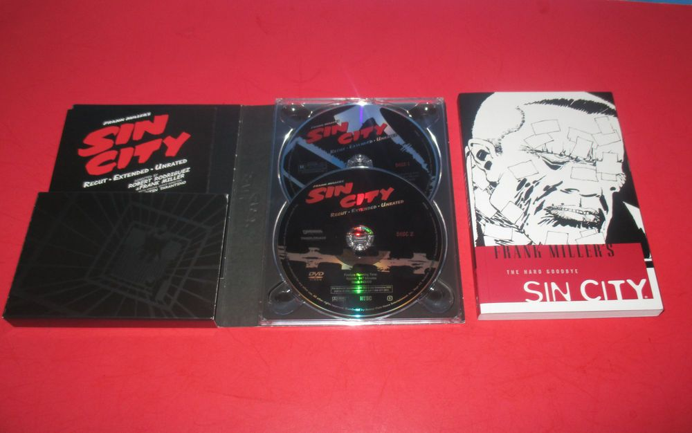 SIN CITY DVD (2- Discs Set ) Extended & Unrated Special Edition ...