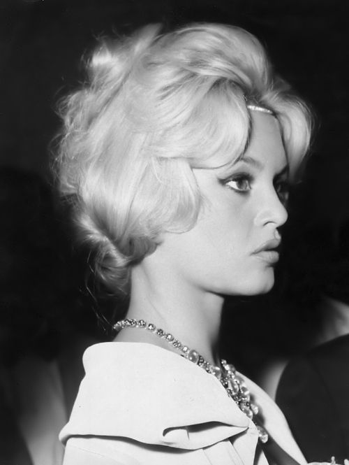 Brigitte Bardot at the 1958 Venice Film Festival.