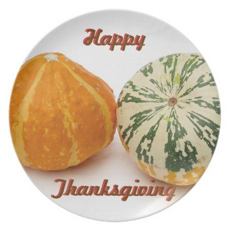 Happy Thanksgiving Plate in 2018 Thanksgiving Pinterest