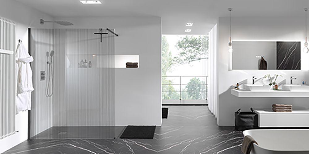 X2O | Balmani Modular Shower System inloopdouche barcode zwart ...