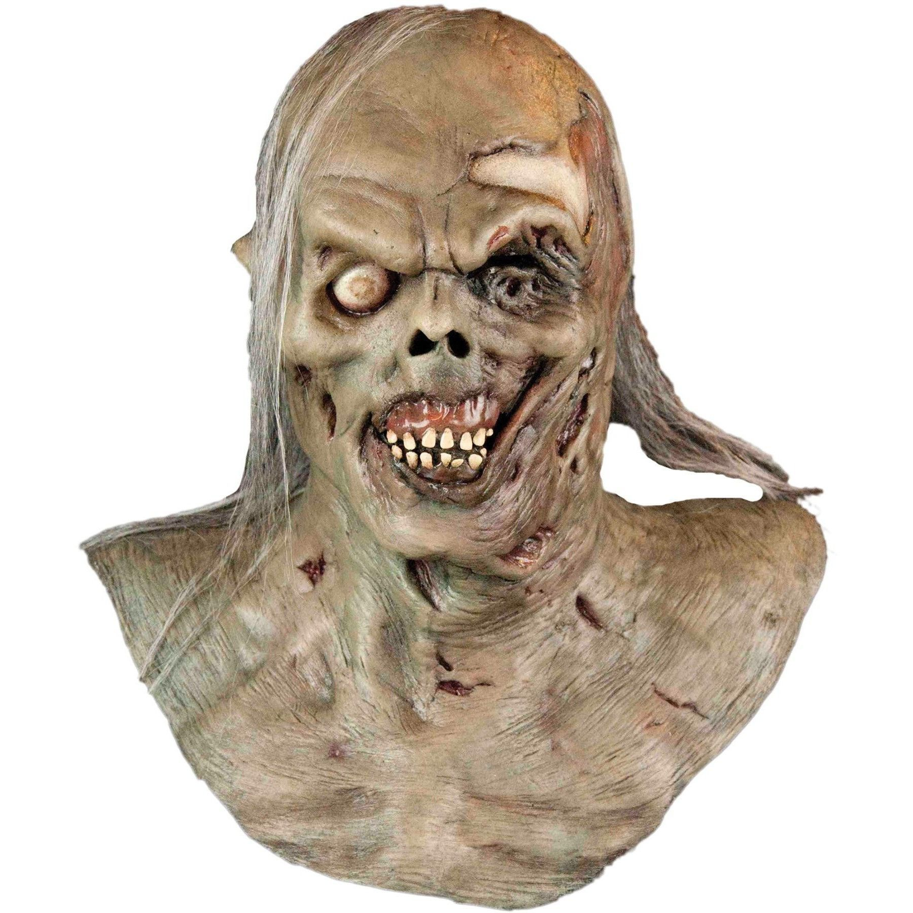 Realistic Zombie Mask Halloween Scary Walking Dead Party Costumes Masks Creepy
