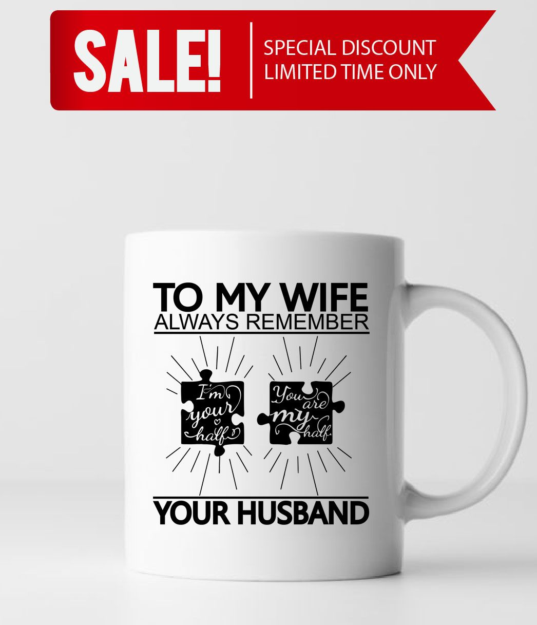 To My Wife You Are My Half Wife Gift Ideas Wife Gifts Wife Christmas Gifts Wife Valentines Christmas Gifts For Wife Wife Valentines Birthday Gift For Wife