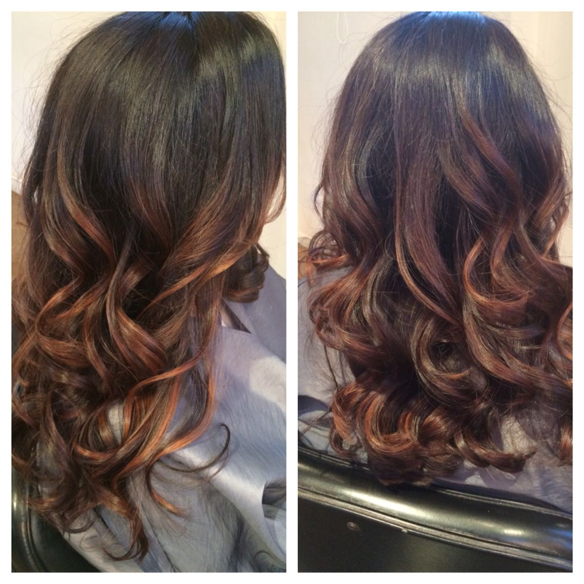 Brown doesnut have to lack dimension handpainted balayaged ombre