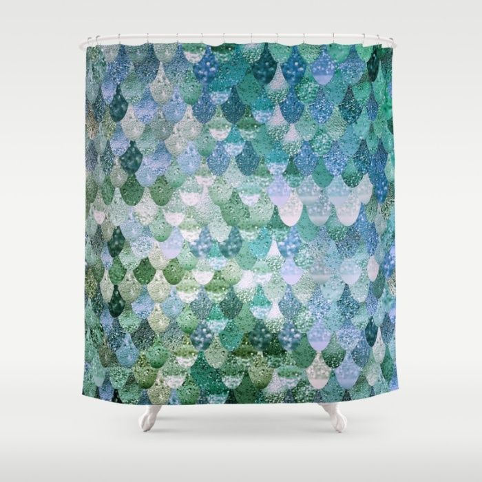 Really Mermaid Ocean Love Shower Curtain With Images Funky Shower Curtains Mermaid Shower Curtain Shower Curtain