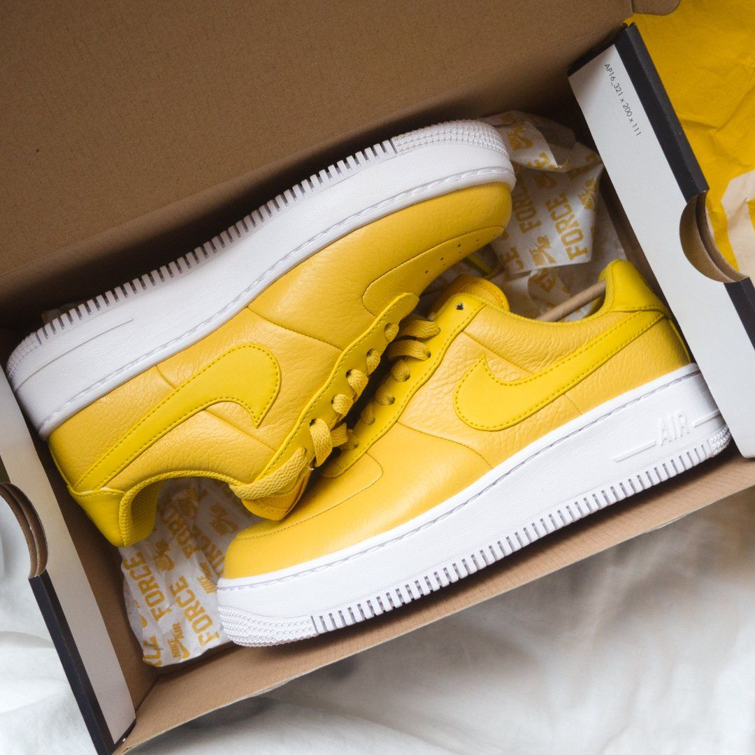 air force 1 upstep jaune