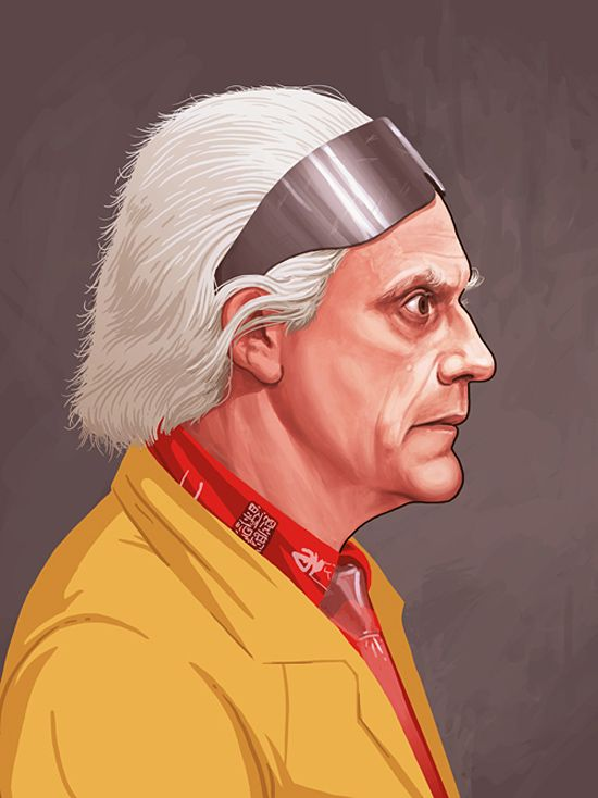 Famous Movie Characters: Illustrations by Mike Mitchell | Inspiration Grid | Design Inspiration