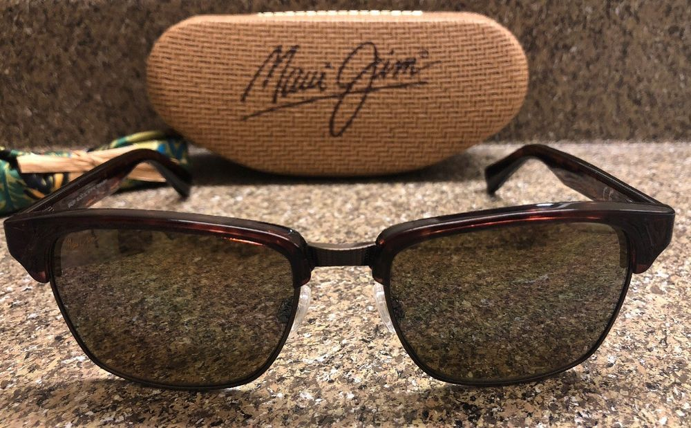 7179dde6af7 New Maui Jim Men s Kawika H257-16C Tortoise Square Sunglasses HCL Bronze  Lenses  fashion  clothing  shoes  accessories  mensaccessories ...