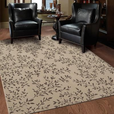 Mohawk Home Samantha Beige 5 Ft X 8 Ft Area Rug 510701 The Home