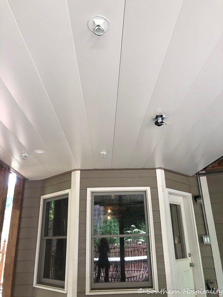 Under Deck Ceiling System Install Under Deck Ceiling
