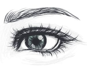 Pin By Orsi Schneider On Rajz In 2019 Eyebrows Sketch Eye Art