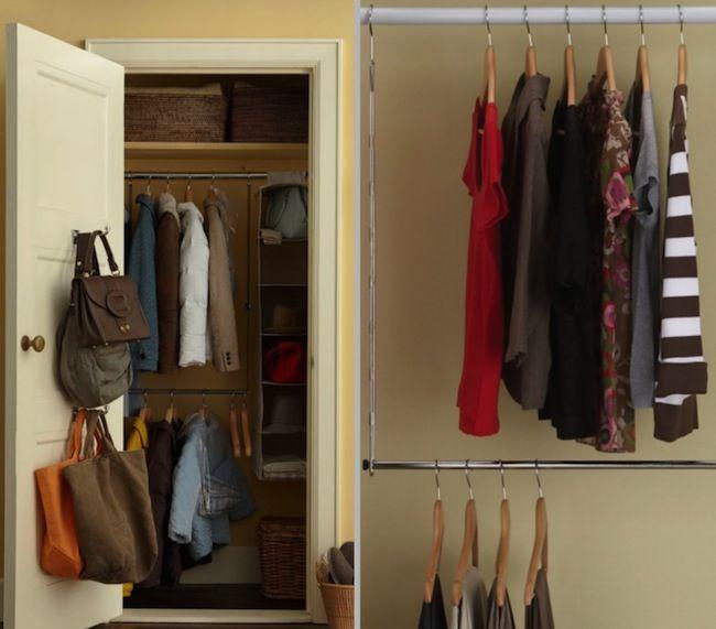Weekend Projects 5 Diy Closet Organizers Closet Organization Diy Diy Clothes Rack Closet Organization