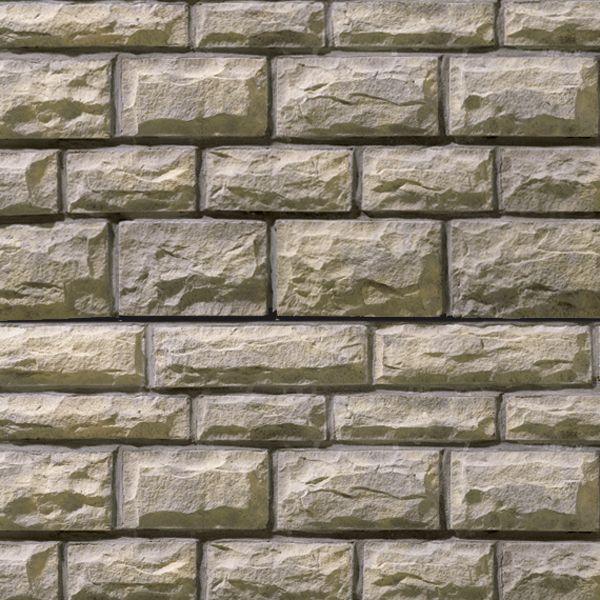 Modern Exterior Cladding Brick Block Stone: Squared Stone : Slightly Squared Shaped Edges