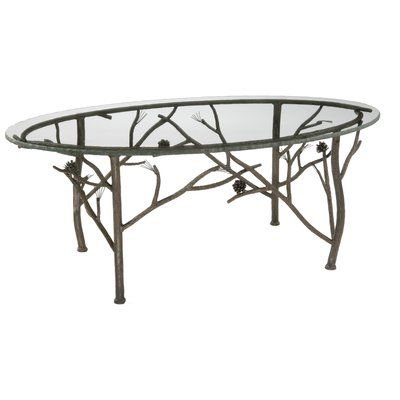 Stone County Ironworks Pine Coffee Table Pine Coffee Table Iron