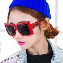 Sunny Eyewear - Engraved Oversized Sunglasses