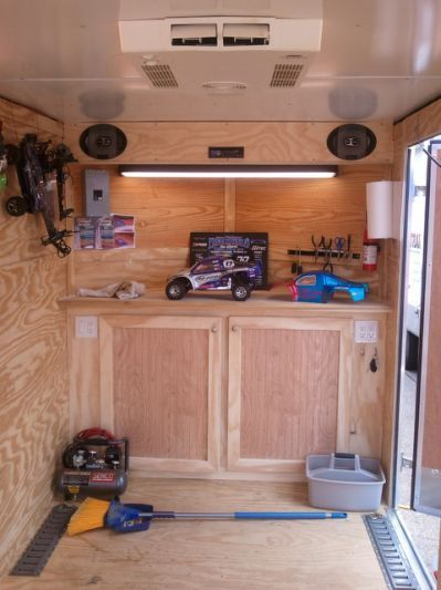 Merveilleux Enclosed Trailer Cabinets V Nose