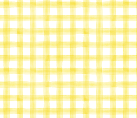 Colorful Fabrics Digitally Printed By Spoonflower Watercolor Plaid Yellow Iphone Wallpaper Yellow Yellow Aesthetic Pastel Yellow Wallpaper