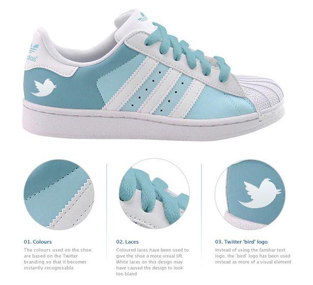 Tenis Adidas Twitter!