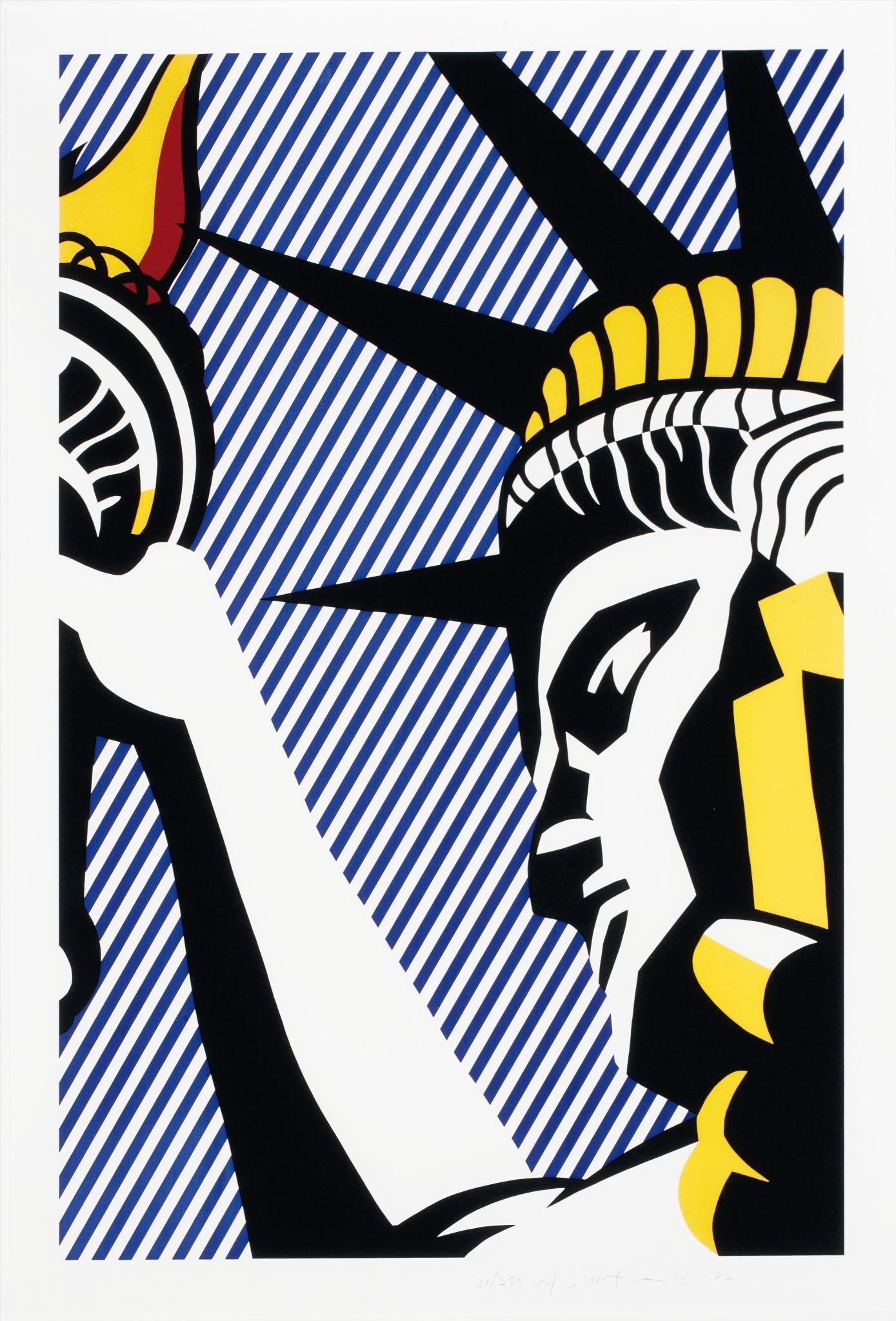 Pin auf Roy Lichtenstein