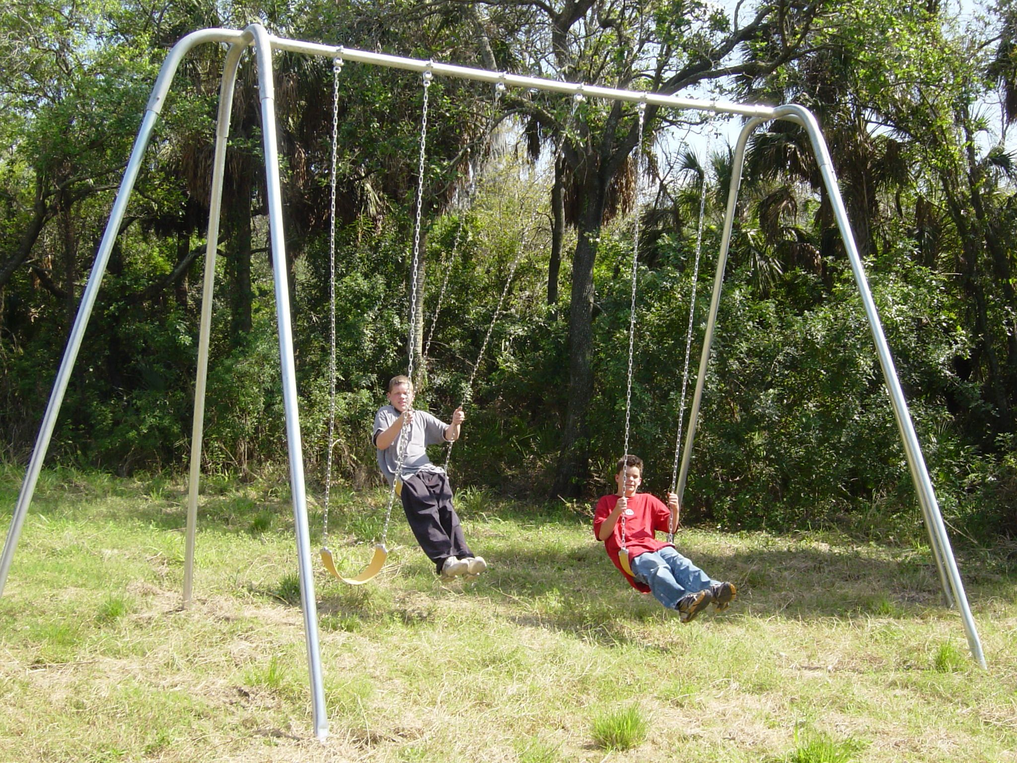 Herculean Swing Set Yesim An Adult And I Want A Swing Set In The