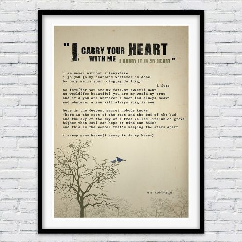 i carry your heart analysis
