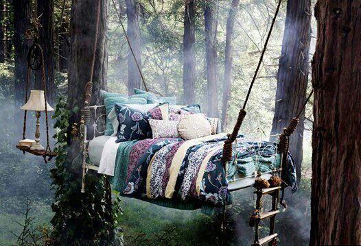 Dormirei ore lassù...