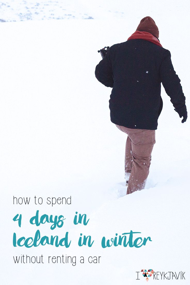 How to spend 4 days in Iceland in winter (without renting a car ...
