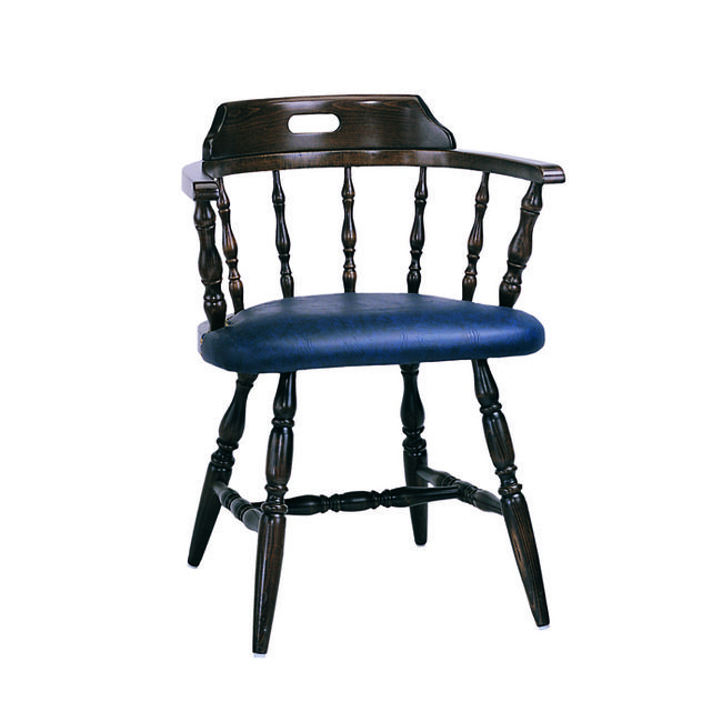 Exceptionnel Rouen Colonial Captainsu0027 Upholstered Seat Wooden Chair