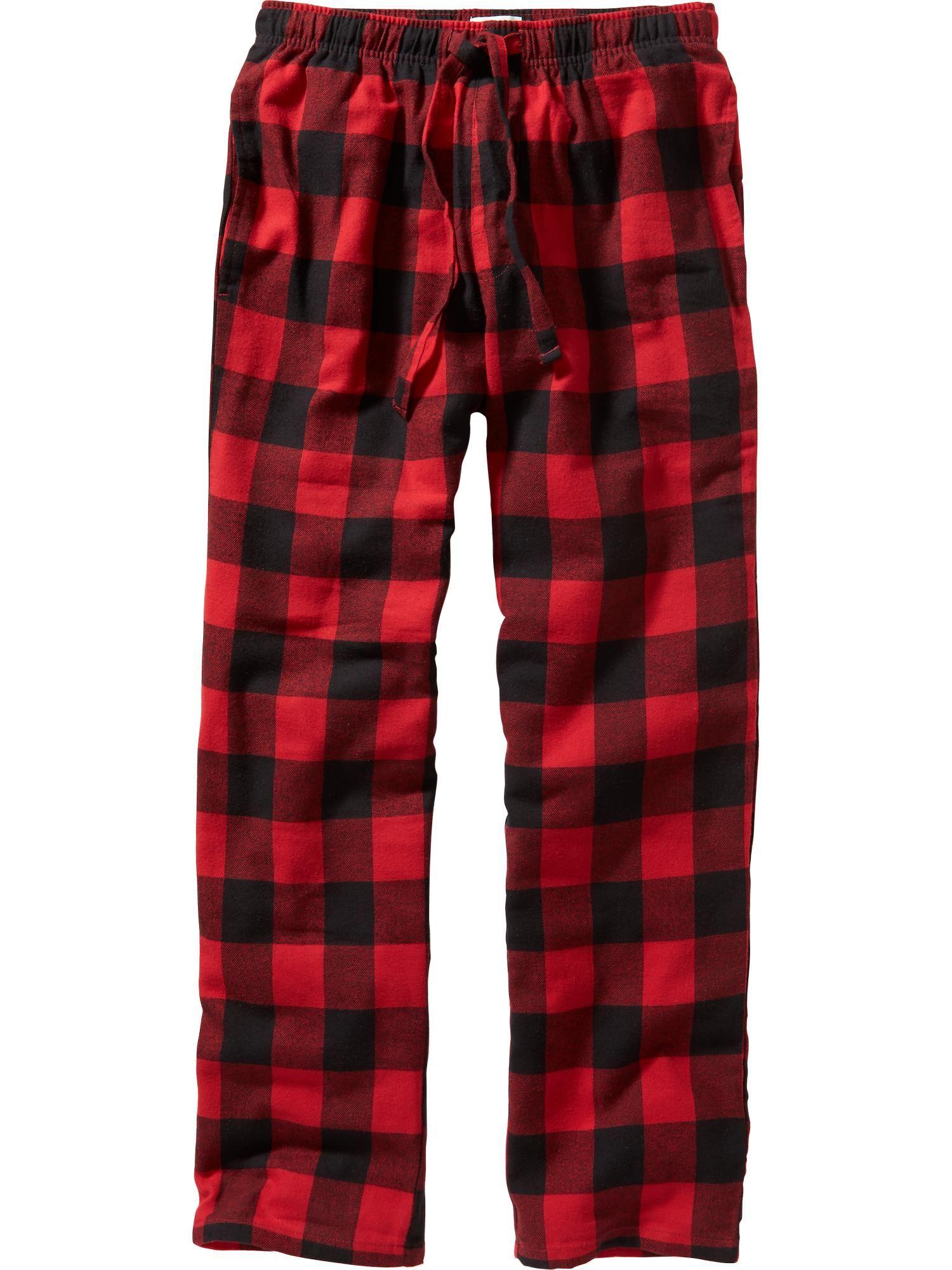 68c50125b9ca91 Men's Plaid Flannel PJ Pants   Boy's Got Style! in 2019   Pants ...