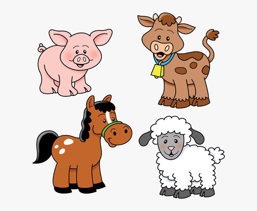 Pin By Lara S On Byki I Telushki Animal Clipart Animal Clipart Free Baby Farm Animals