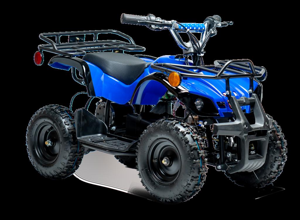 Equad X Navy Blue 800w Utility Atv 4 Wheeler For Kids 4 Wheeler