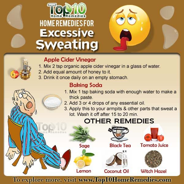 How Can I Stop Excessive Sweating Natural Remedies