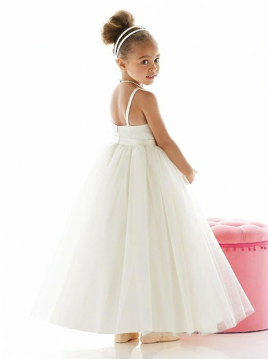 e8964992a9bb This flower girl dress is perfect for a romantic wedding - from Dessy,  style Flower Girl Dress FL4020