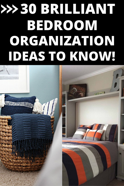 31 Bedroom Organization Ideas You Should Not Mis Organization Bedroom Bedroom Design Trends Modern Bedroom Design