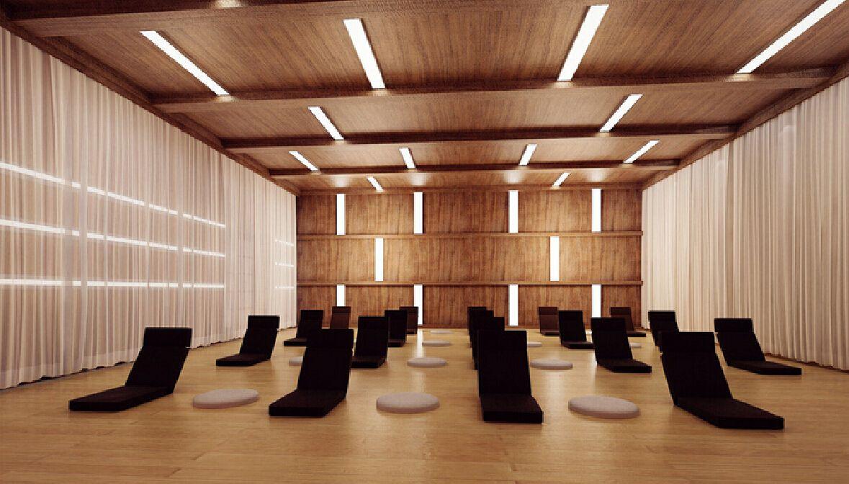 Amazing Yoga Room Interior Design 1179 X 672 1029 Kb Jpeg Yoga Room Design Yoga Space Design Room Interior Design