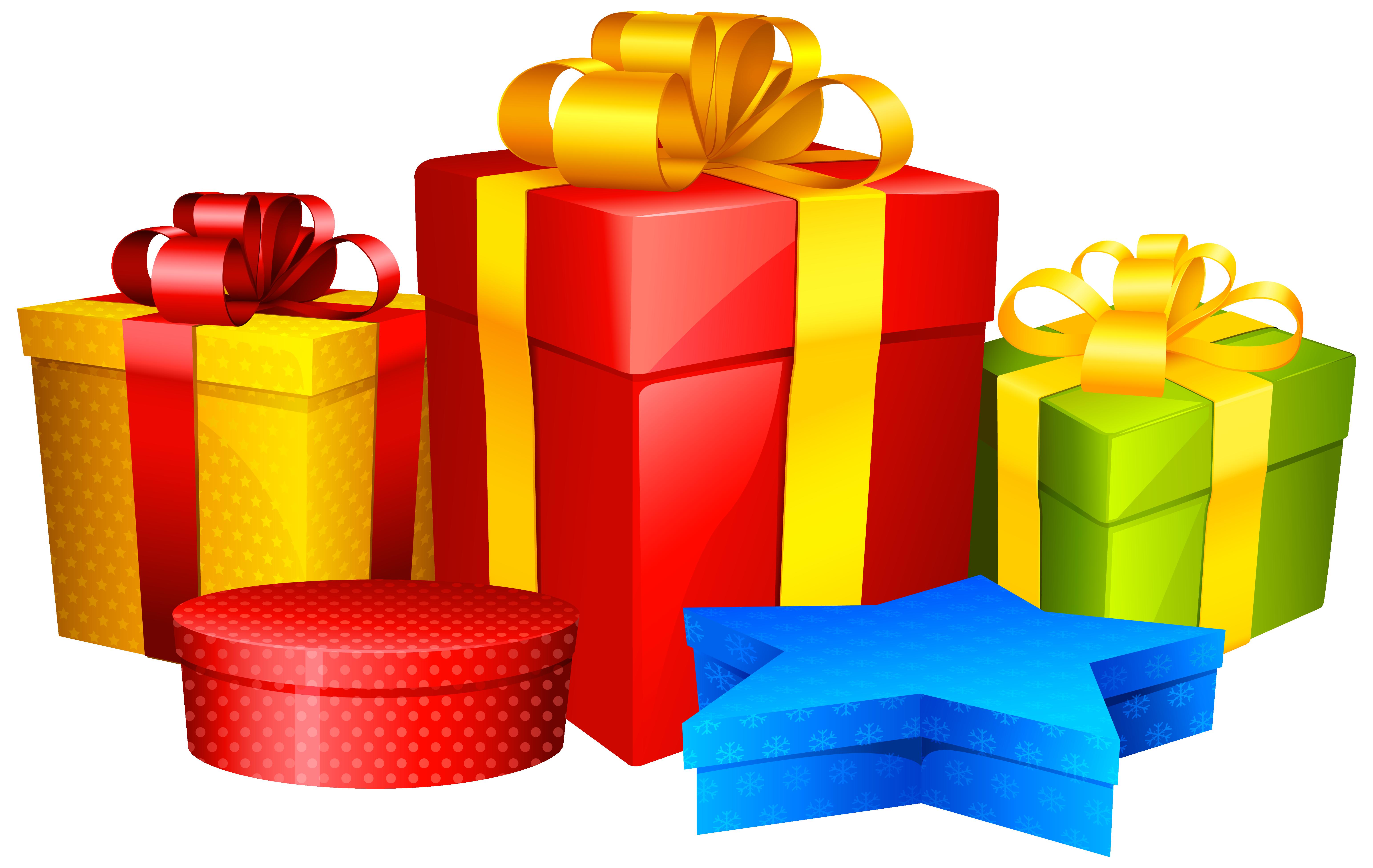 20+ Christmas presents clipart transparent information