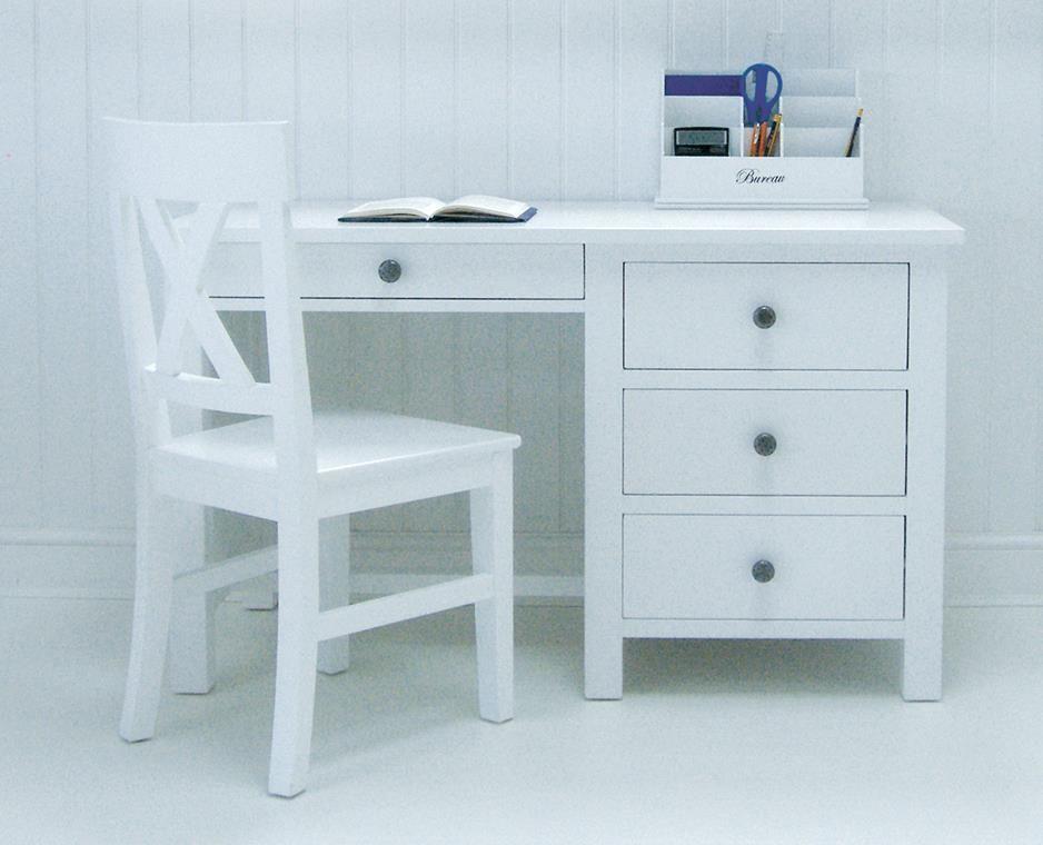 New England White Desk