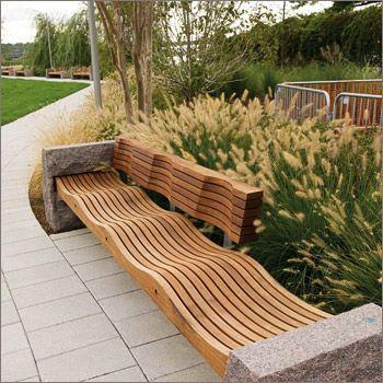 Landscape Forms Park Bench | Landscape Lust | Pinterest ...