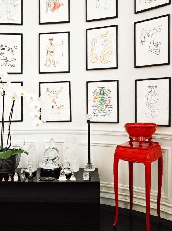 The most beautiful gallery walls from the pages of Vogue Living ...