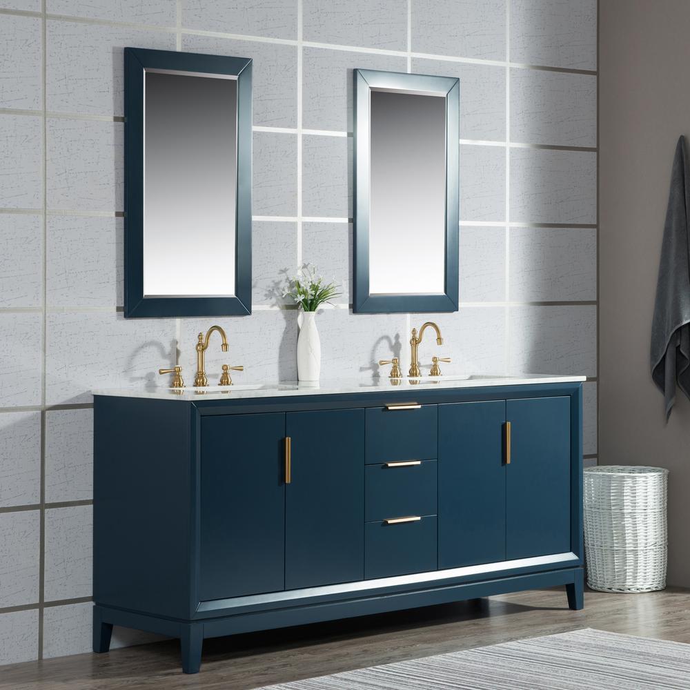 Pin By Biglance On Bathroom Renovations In 2020 Marble Vanity Tops Double Vanity Bathroom Blue Bathroom Vanity