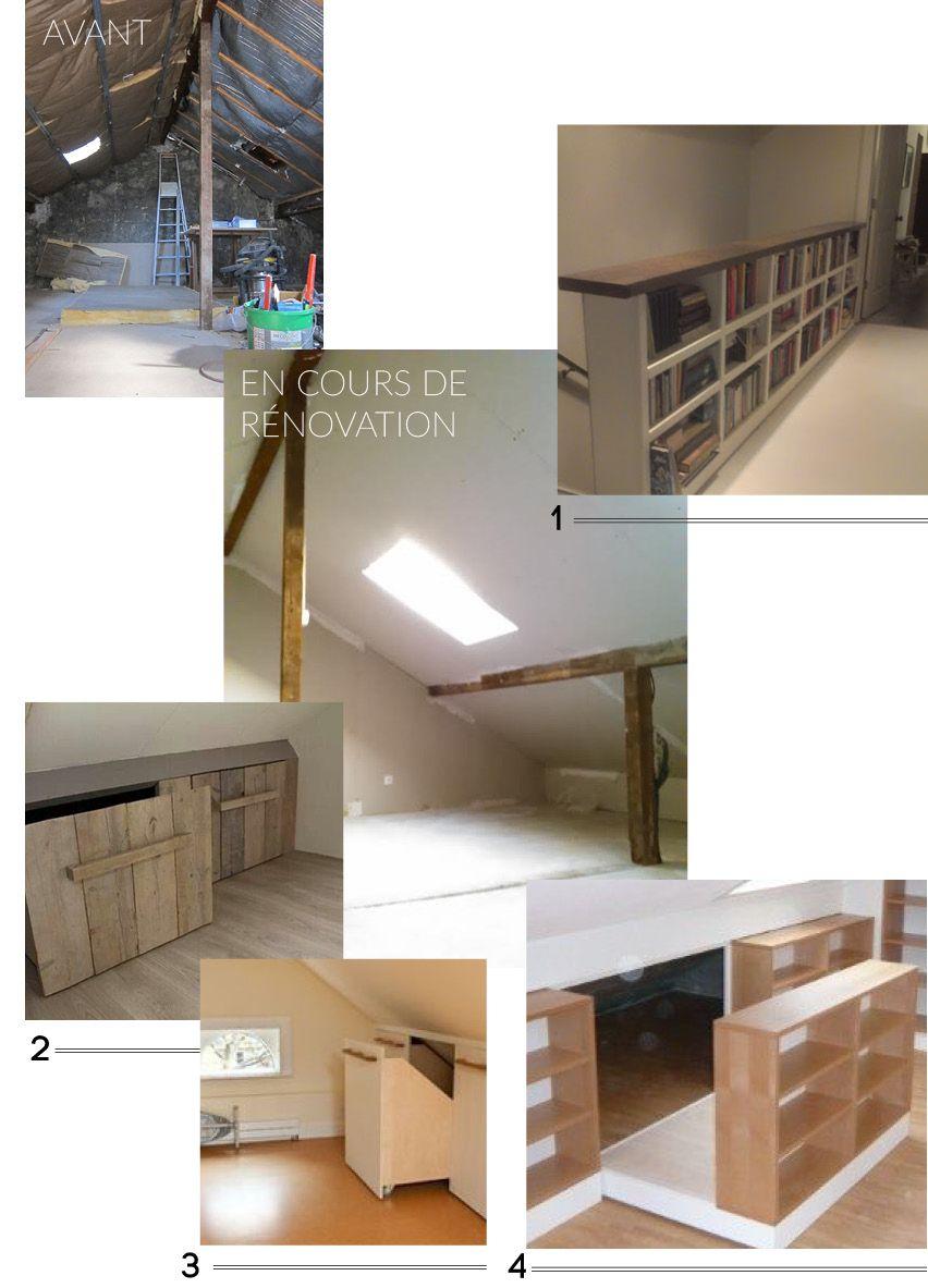 diy amenagement 852 1 183 pixels bricolage pinterest space saving attic and. Black Bedroom Furniture Sets. Home Design Ideas