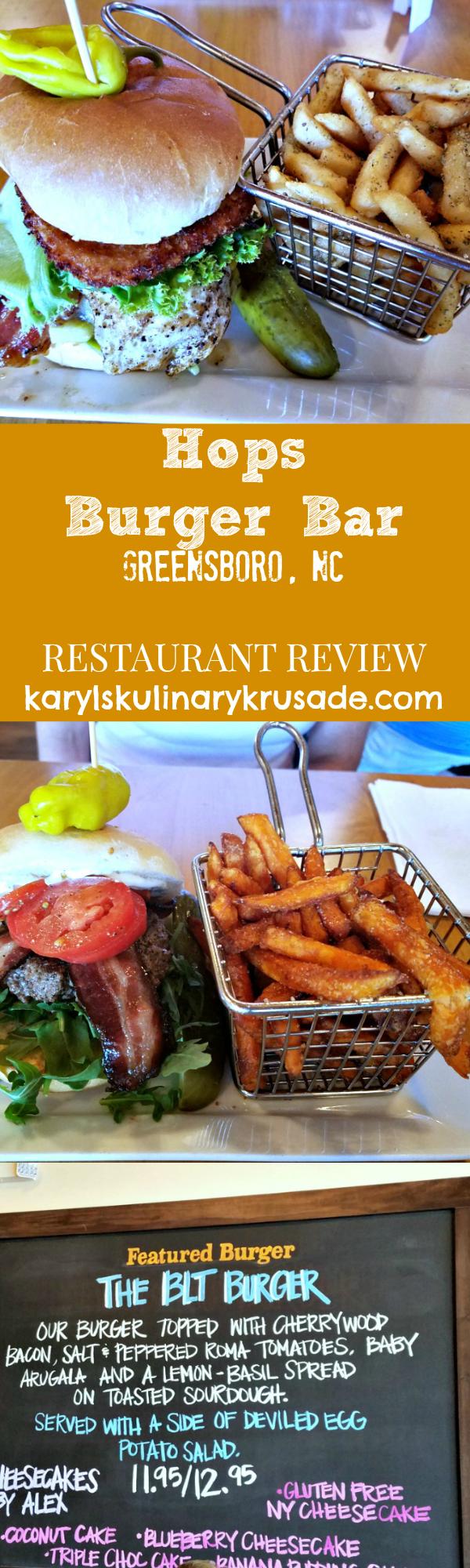 Hops Burger Bar Review By Karyl S Kulinary Krusade Burger Bar Burger Blt Burger